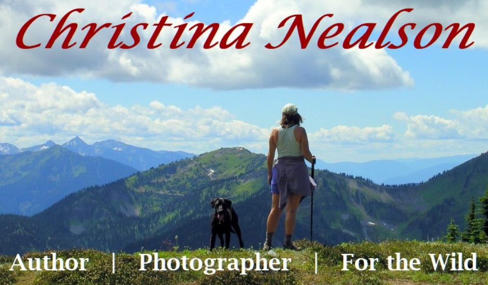 Christina Nealson, author, photographer, for the wild
