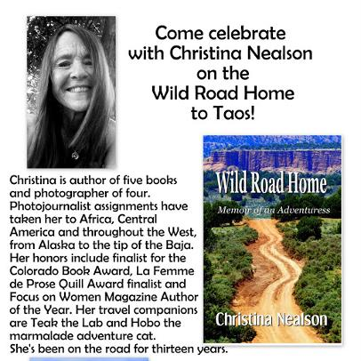Wild Road Home Book Launch Christina Nealson
